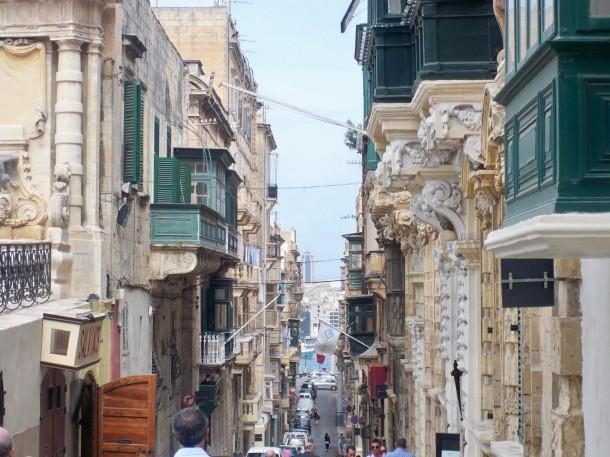Dos lalinenses en Malta