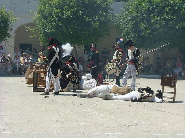 Recreando guerras napoleónicas Alarme
