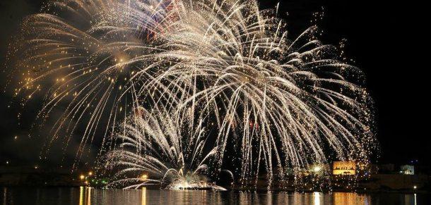 festivales Malta. Festival Internacional Fuegos Artificiales