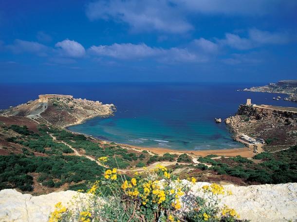 Ghajn_Tuffieha__Malta