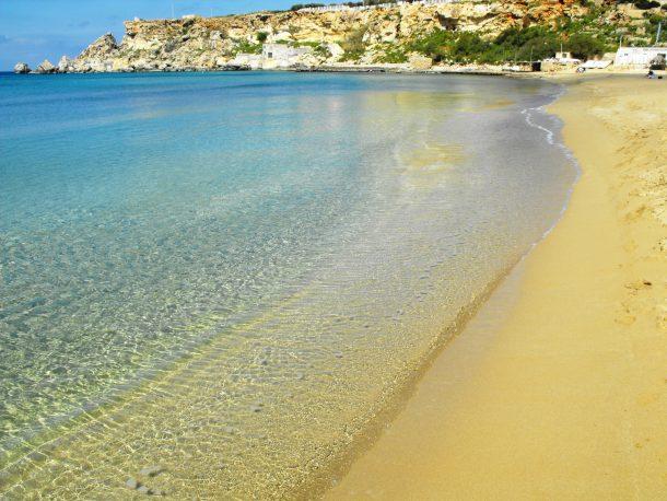 playas de arena malta