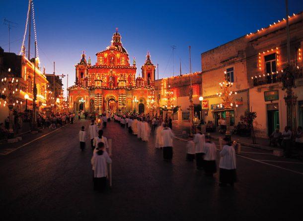 fiestas pueblos Malta