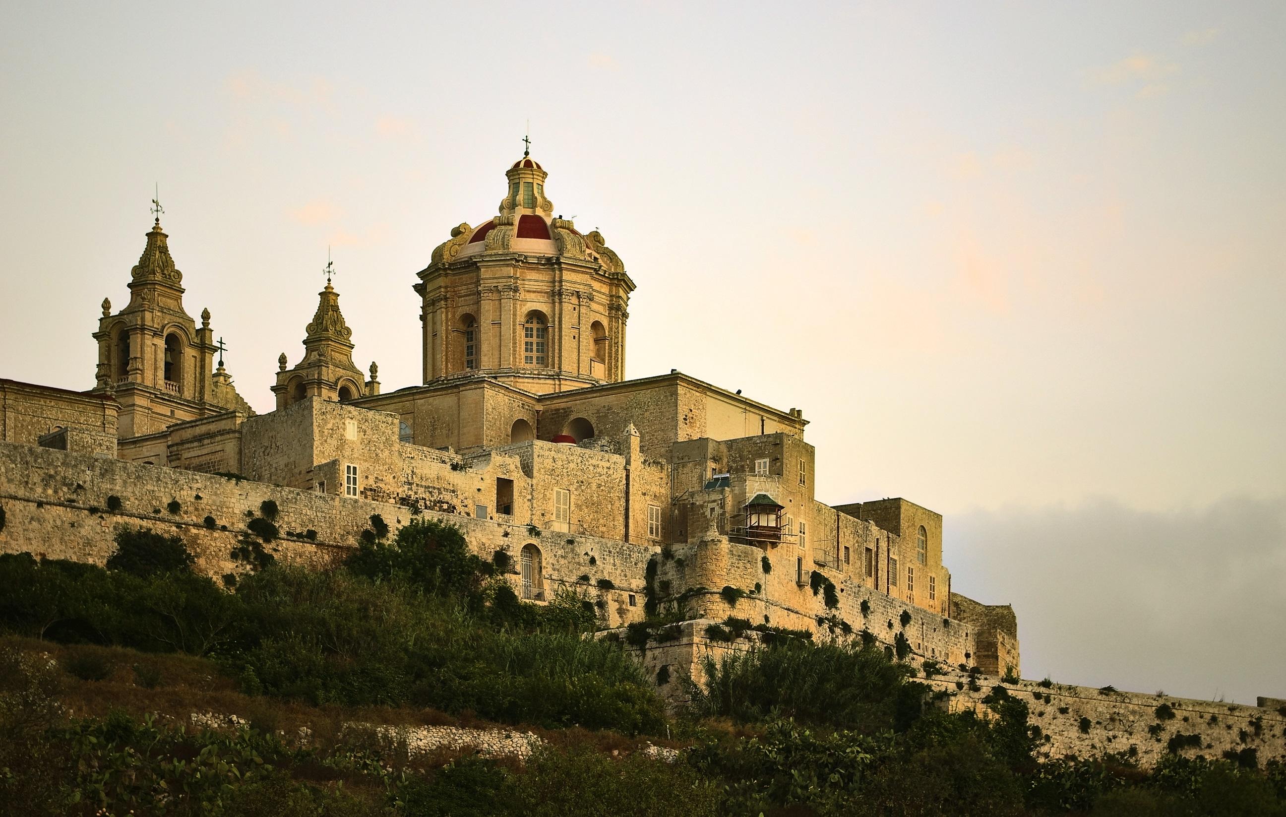hoteles en castillos Palacio Xara, Malta