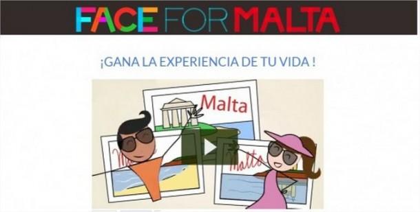 """Participa en el concurso """"Una cara para Malta"""
