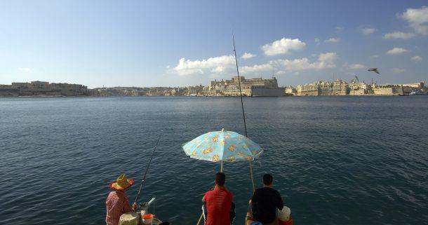 pescar en Malta