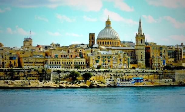 Típica estampa Malta
