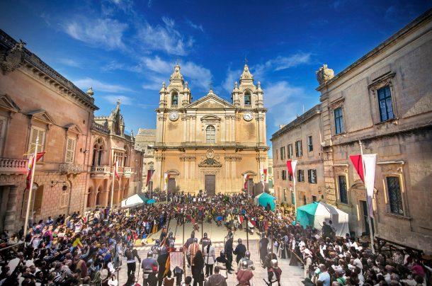 festival medieval mdina