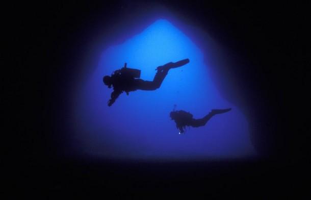 Bajo el agua en Malta (Oficina de Turismo de Malta)