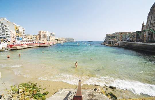 balluta playa arena malta